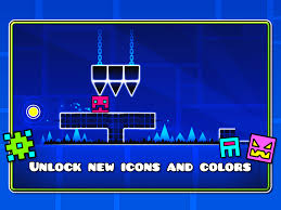 Thumbnail for A fantasy world with Geometry Dash
