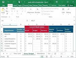 excel rotating schedule excel timetable template newgambit club