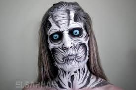 scavenging ghoul elsa rhae makeup
