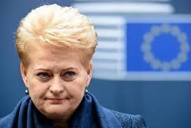 Президент Литвы Даля Грибаускайте биография  президент литвы