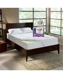 serta mattress. Delighful Serta Serta CradlingCloud 4inch Memory Foam Mattress Topper White Inside