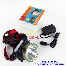 Đèn Pin Đội Đầu bóng led siêu sáng chống nước Ánh sáng vàng hoặc Ánh sáng  trắng có thêm bóng led phụ tiết kiệm pin CXB5