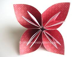 How To Make A Flower Out Of Paper Step By Step Easy Origami Kusudama Flower Folding Instructions