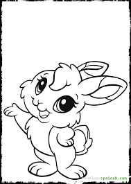 Small Picture baby bunny coloring pages