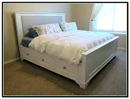 King Size Bed Frames With Storage Full Size Bed Frame With Storage ...