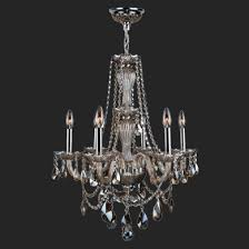 worldwide lighting w83096c23 gt provence 6 light chrome finish and golden teak crystal chandelier