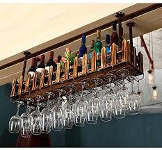 stemware racks creative home bar wine rack hanging glass holder wine glass rack shelf