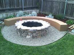 round brick fire pit astounding backyard decoration by building fire pit fancy outdoor living space decoration