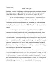 circulatory system lab biology shumanimassa abstract  2 pages ptsd underage sex essay