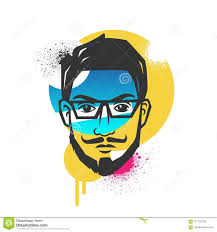 Creative Concepts Hair Design Creative Concepts Of A Face Stock Vector Illustration Of