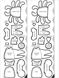 Print Out Animal Finger Puppet Template 11 finger puppet templates free pdf documents download! free on easy crab coutout templates