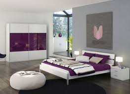 Superb Design Of The Purple Bedroom Ideas With Brown Wooden Floor Ideas  Added With Grey And