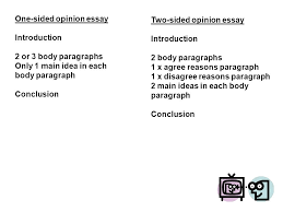 what s the topic of our essay ppt video online one sided opinion essay