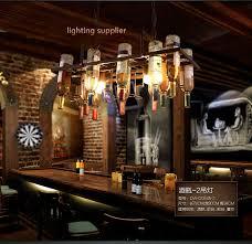 restaurant kitchen lighting. recycled retro hanging wine bottle pendant lamps light with edison bulb for dining roombar restaurant kitchen lighting
