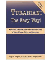 Turabian The Easy Way Updated For 8th Edition Buy Turabian The