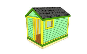 an ilration of a simple playhouse how to build diy outdoor free plans