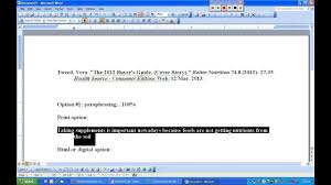 How To Cite Paraphrase Website Mla Softdexag56 Site