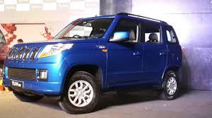 new car launches mahindra2015mahindratuv300launchpicsblueangle  CarBlogIndia