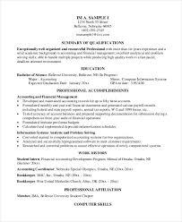 40+ Free Accountant Resume Templates - Pdf, Doc | Free & Premium ...