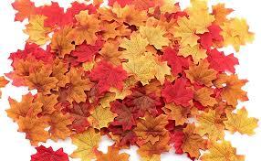 1100PCS Fall Artificial Maple Leaves Thanksgiving ... - Amazon.com