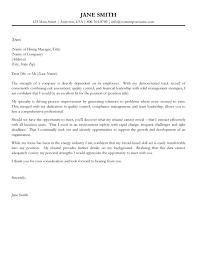 Sample Cover Letters 8 Resume Cv
