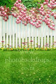 K Spring Garden Photo Backdrop