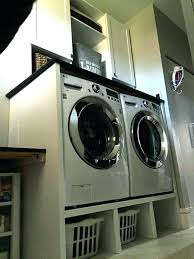 diy washer dryer pedestal dryer pedestal washing machine platform washer and surround tutorial drawers building washer