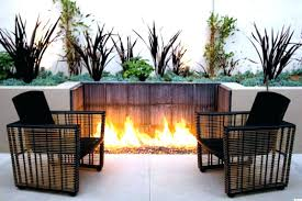 outdoor patio fire pits propane fireplace pit garden