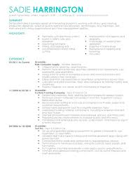 Production Worker Resume Sample Assembly Line Resume Medical Job