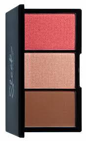 get ations sleek make up face form contour and blush palette fair 20g