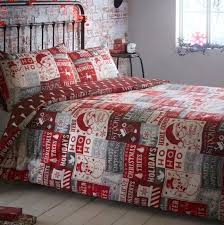 bedding sets ho ho ho quilt cover sets bed sheets argos