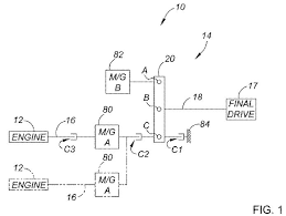 gm patent application be for the chevrolet volt s transmission it shows the internal combustion engine
