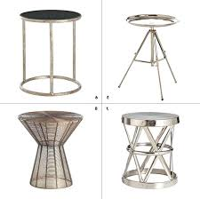 elegant small metal accent table round all graphics hairpin legs home depot round coated metal picnic tables