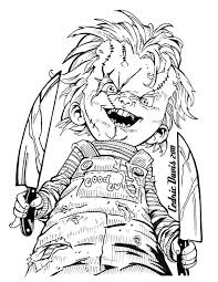 Image Result For Scary Horror Coloring Pages Cricut Crafts Ideas
