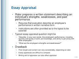 performance appraisal ppt video online  16 essay appraisal rater