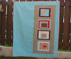 61 best 100 days of Modern Quilting images on Pinterest   Modern ... & 100 Days of Modern Quilts: Week of Color   Modern Log Cabin by April of Adamdwight.com