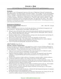 Newest Construction Marketing Manager Resume Brilliant Ideas Of