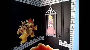 Super Mario Bedroom Super Mario Theme Bedroom Youtube