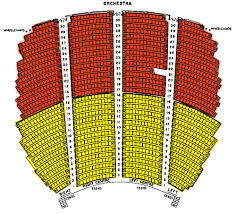 seating chart for orpheum theatre bc seating chart