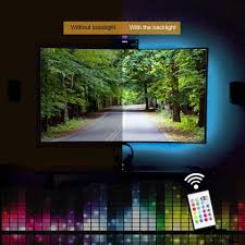 home led accent lighting. Bias Lighting For HDTV USB Powered TV Backlighting, Home Theater Accent Kit With Remote Led