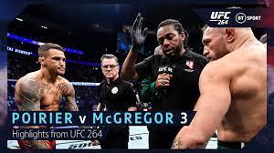 Dustin Poirier v Conor McGregor 3