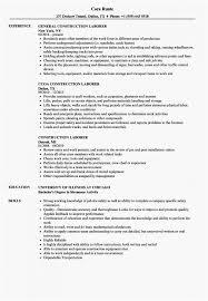 16 Best Construction Laborer Job Description For Resume