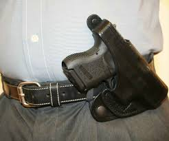 model 10 leather driving crossdraw holster