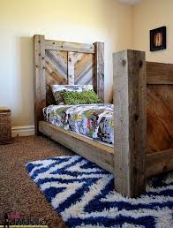 rustic bed plans. Exellent Plans A Rustic Twin Bed In Rustic Bed Plans