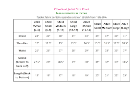 Chloe Noel Skating Pants Size Chart Chloenoel Jt22 Fleece Unisex Figure Skating Jacket
