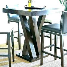 round bar top table high