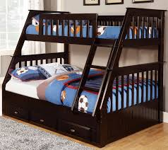 Bunk Bed Discovery World Furniture Twin Over Full Espresso Mission Bunk Bed