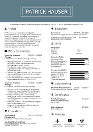 Sample Employment Resume Resume Examples By Real People Employee Relations Manager