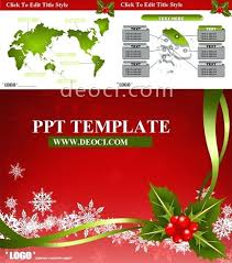 Com Red Theme Greeting Cards The Slide Template Free Download