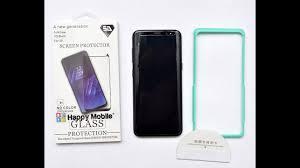 Обзор установка стекло 3D FULL GLUE Samsung S8 Plus Note 8 ...
